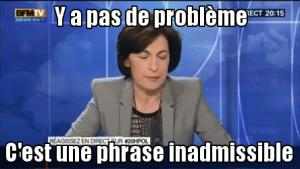 Gif avec les tags : BFM,Ruth Elkrief,inadmissible