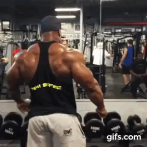 Gif avec les tags : bodybuilding,doigt,fuck,maxx charles,musculation